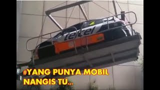 MOBIL MAHAL TERJUN BEBAS - WORK PLAN FAILED - Kompilation at works
