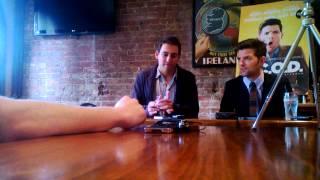 Adam Scott And Stu Zicherman Talk A.C.O.D.