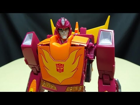 MP-28 Masterpiece HOT RODIMUS (Hot Rod): EmGo's Transformers Reviews N' Stuff