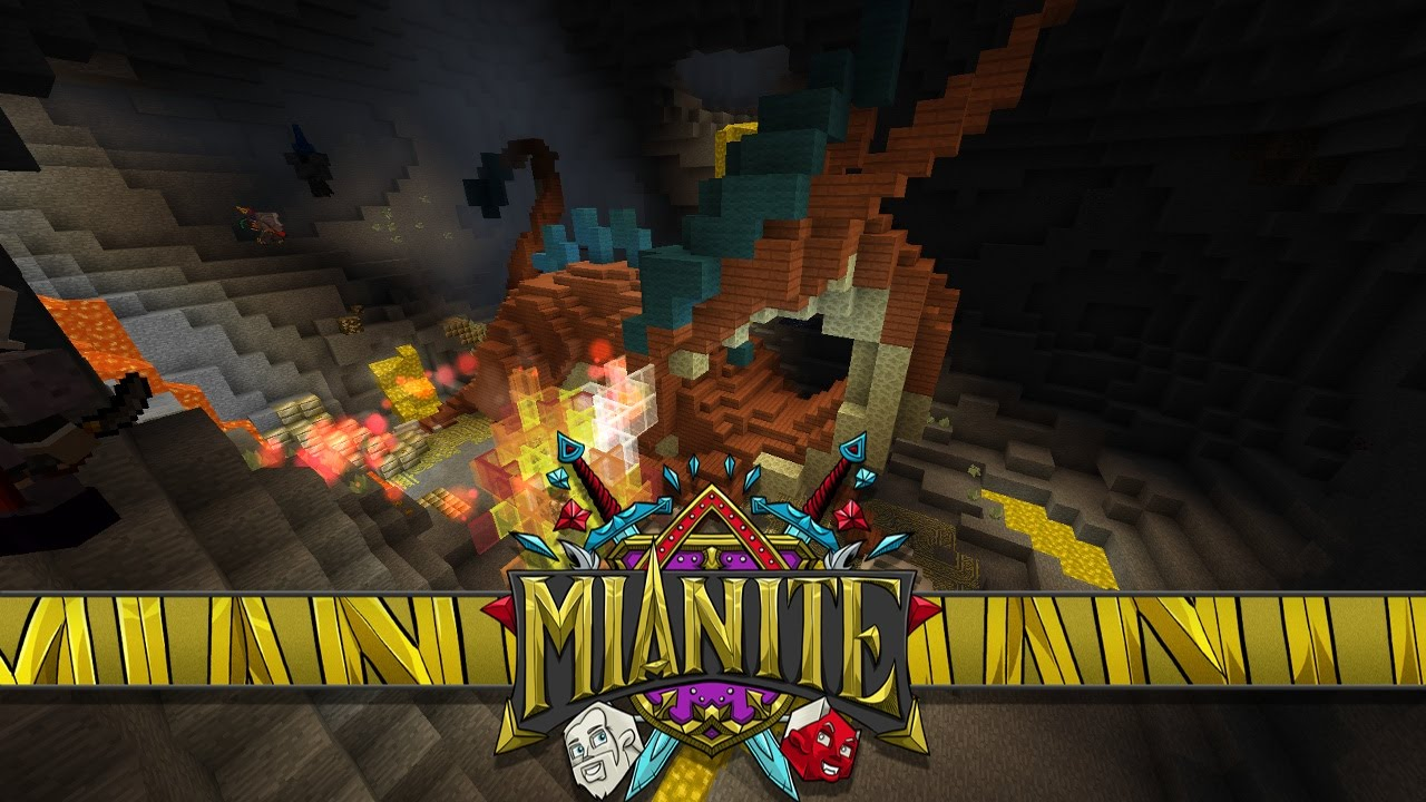 Minecraft: Mianite: Secret World & HIDDEN DRAGON!! [S2:E53]
