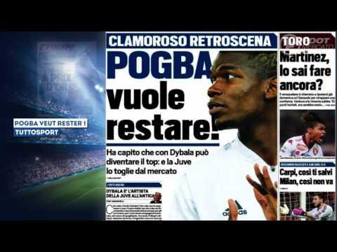 Paul Pogba a fait son choix pour son avenir !