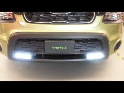 Philips Daylight 8 - 2012 Kia Soul - Philips LED Daylight 8 Daytime Running Lights (DRL) DIY