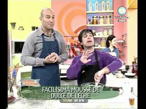 Cocineros Argentinos: Mousse de dulce de leche, TV Pública
