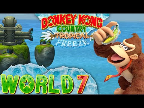 Donkey Kong Country: Tropical Freeze - World 7 (Co-op)
