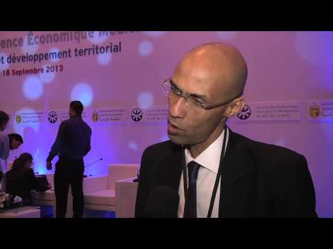 Naoufel Jammeli speaks on the occassion of the Mediterranean Economic Conference