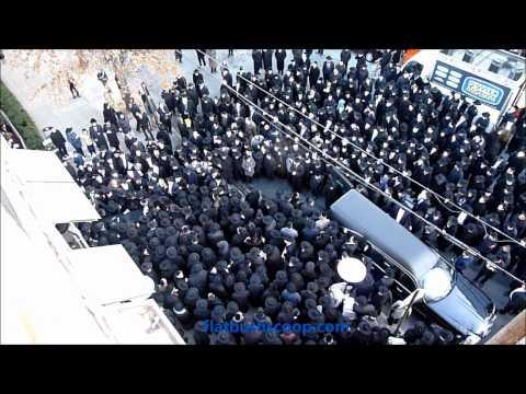 Levaya of Harav Chaim Aaron Weinberg, Principal Of Yeshiva Ateret Torah zt''l 1-11-12