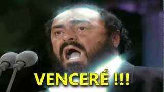 Pavarotti Nessun Dorma Subtitulada Español Hd Los Ángeles 1994