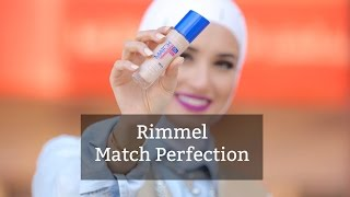 Rimmel Match Perfection foundation .. كريم اساس ريميل ماتش بيرفكشن