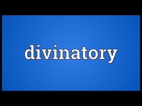 Header of divinatory