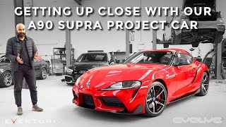 Introducing our A90 Supra Project Car!