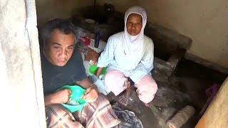 Lumpuh, Kakek Miskin 20 Tahun Tinggal di Kamar Mandi