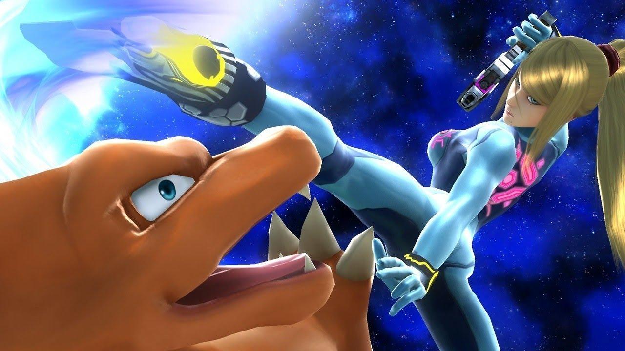 Super Smash Bros Wii U/3DS NEWS SEXY SAMUS COSTUME - YouTube