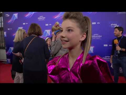 Junior Eurovision 2019 behind the scenes :)