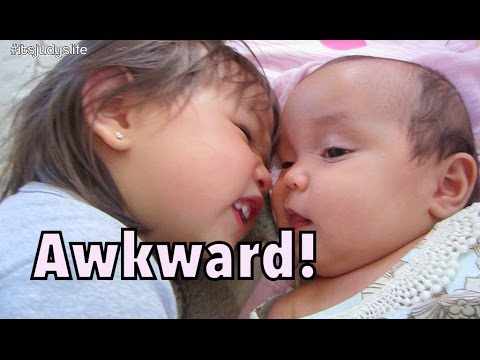 Awkward Baby Kisses! - July 16, 2014 - itsJudysLife Daily Vlog