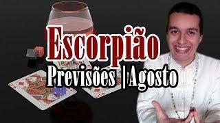 Escorpião Agosto 2019 - Mediunidade Forte