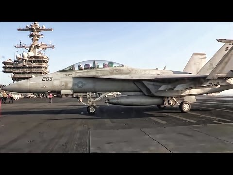 Airstrikes Against ISIS • U.S. Aircraft Carrier On Station