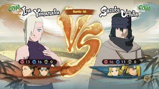 Naruto Shippuden Ultimate Ninja Storm 4 Ino Shikamaru Tenten Vs Sasuke Temari Deidara
