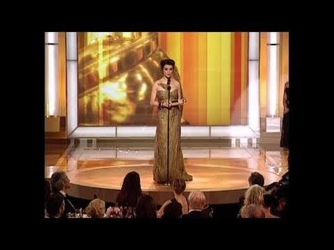 Rachel Weisz Wins Best Supporting Actress Motion Picture - Golden Globes 2006
