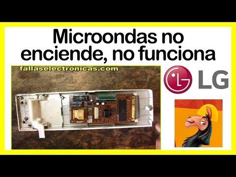 Horno microondas no enciende