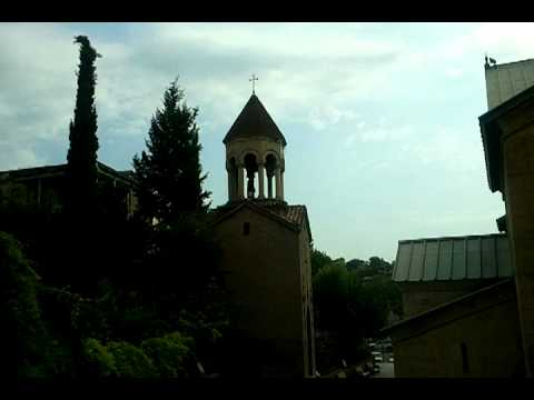 Morning bells and chants in Tbilisi