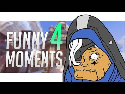 Overwatch Funny/Fail/Troll Moments Compilation #4