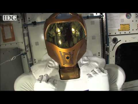 Robonaut 2 powers up on ISS