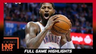 Oklahoma City Thunder vs Portland Trail Blazers Full Game Highlights / Week 3