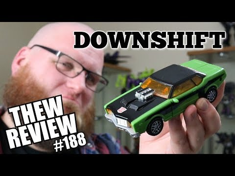 Cybertron Downshift: Thew's Awesome Transformers Reviews #188