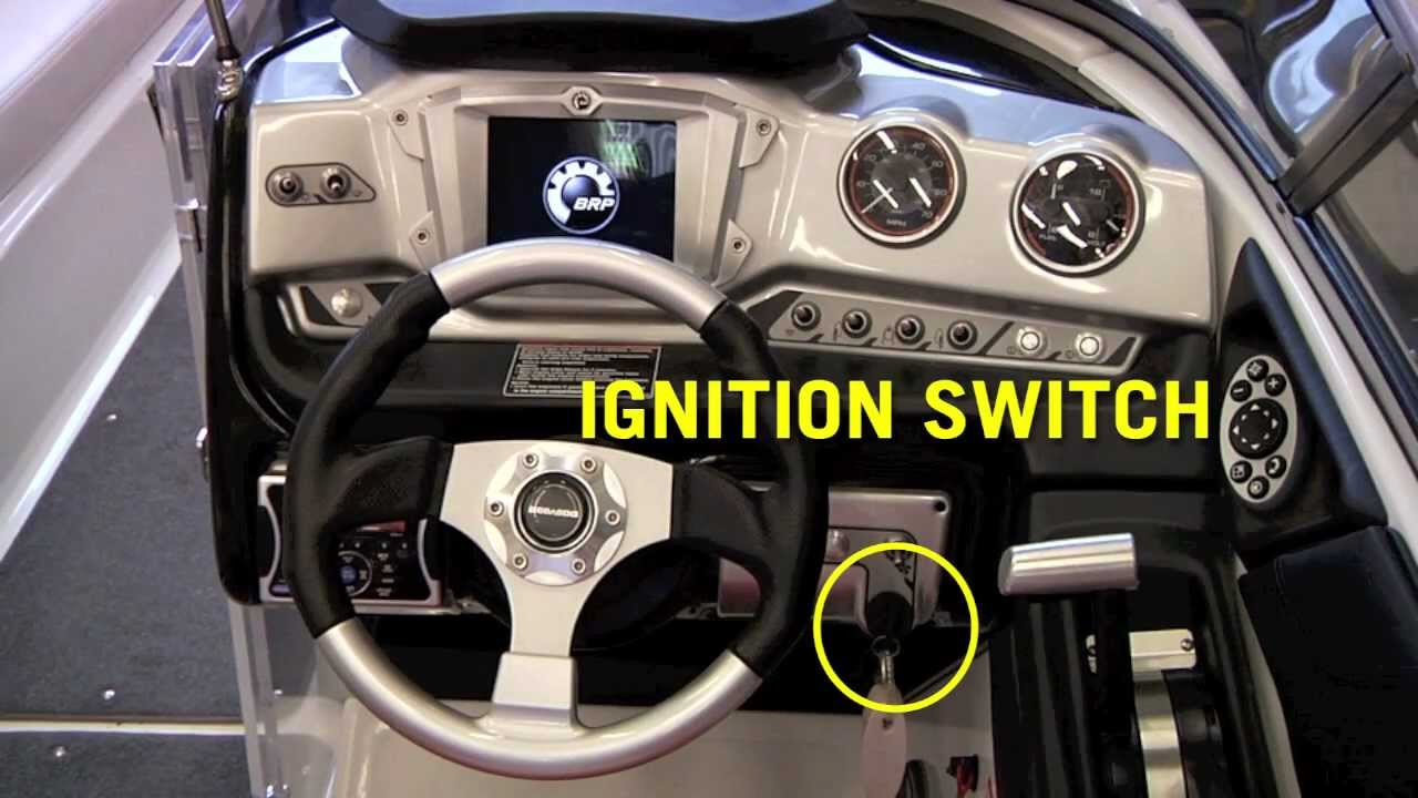 230 Wake Touch Screen Helm Controls Sea Doo Boat How To