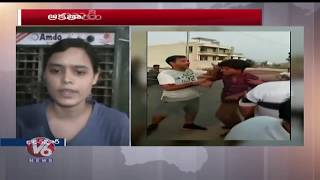 Girl Beats Up Eve Teaser In Rajasthan's Bharatpur, Video Goes Viral