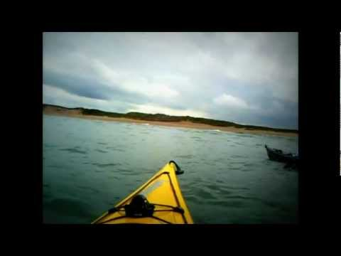 Out to Seacliff in June Kayak Video