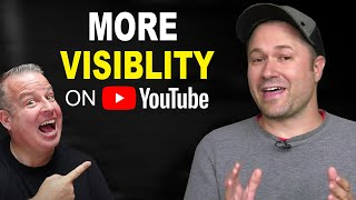How to get More Views and Visibility on YouTube!  Advanced Tips with Tim Schmoyer