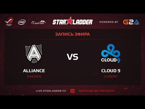 Alliance vs Cloud 9 game 2 StarSeries XII Finals