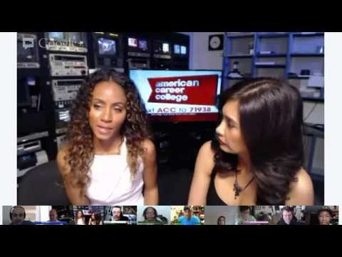 FOX 11 Google+ Hangout: Jada Pinkett Smith Talks Free Angela & All Political Prisoners