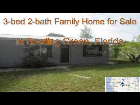 3-bed 2-bath Family Home for Sale in Bowling Green, Florida on florida-magic.com