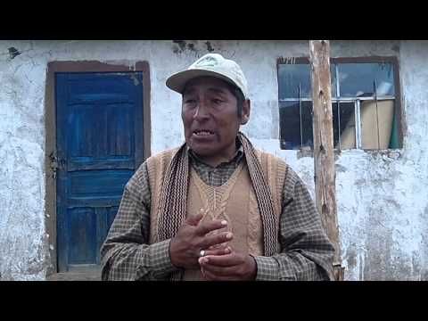 Modesto Hunan, Alpaca farmer talks about climate change in the Andes