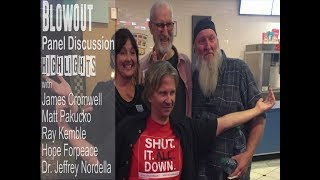 Highlights from BLOWOUT panel with James Cromwell