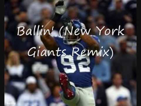 Tribute to the New York Giants Song - Ballin' (New York Giants Remix) - Jim Jones.