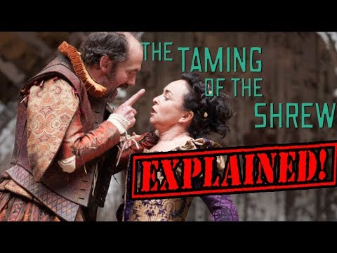 the taming of the shrew a Baptista struggles to marry off his tempestuous daughter katharina, a shrew who denies that any man could possibly be her match however when she meets petruchio, who is as ill-tempered as she, the two forces of nature.
