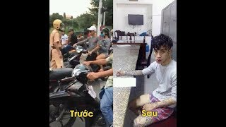 Cái kết cho trẻ trâu xăm trổ rút dao hành hung CSGT Nha Trang.