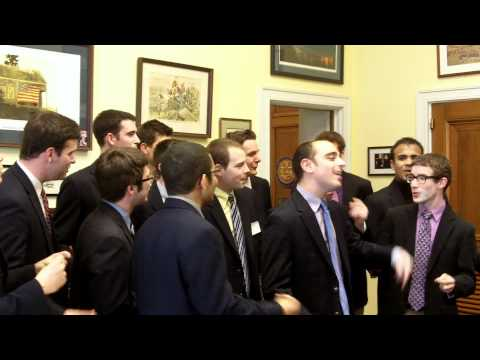The Hangovers Perform at Congressman Hinchey's Washington DC Office