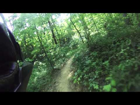 New Harmonie State Park - Mountain Biking