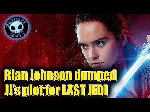 Rian Johnson Dumped JJ Abram's THE LAST JEDI Plot Outline