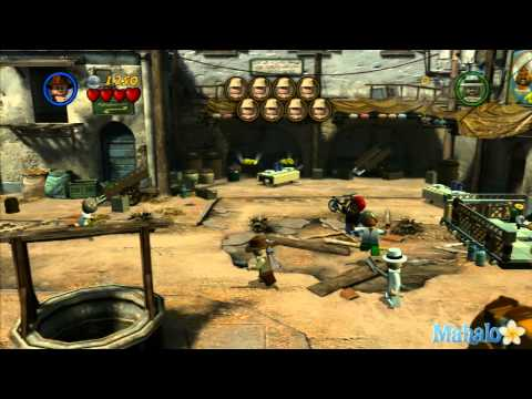 LEGO Indiana Jones 2- Raiders of the Lost Ark Walkthrough- 2 of 5