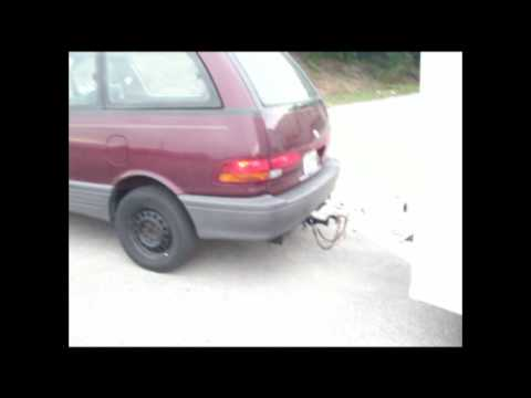 Toyota Previa Hitch Installation & Trailer Towing
