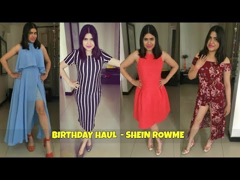 Try on Fashion Haul : SheIn , Rowme , Myntra , Lifestyle , Charles & Keith  & more
