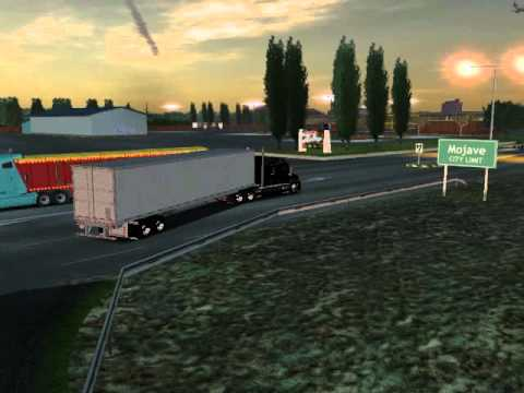18 wheels of steel haulin kenworth t2000