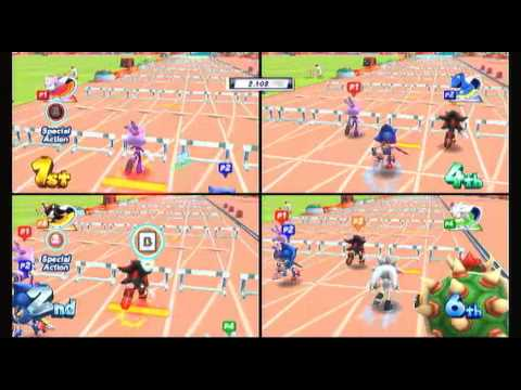 mario and sonic at the london 2012 olympic games ep 1
