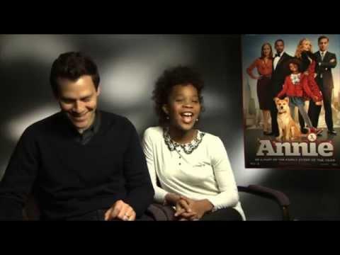 Quvenzhane Wallis & Will Gluck - Interview Annie Remake From Sony Pictures
