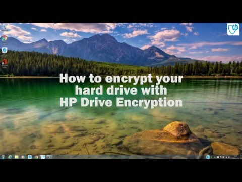 How to encrypt your hard drive using HP Drive Encryption